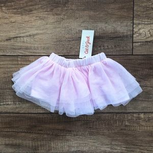 Cat and jack 6 month baby pink tutu skirt